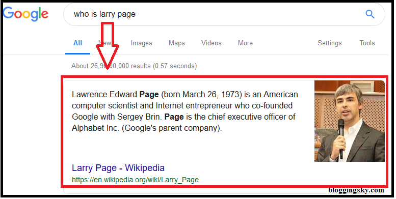 Paragraph Google Snippets
