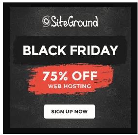 SiteGround Hosting Deals