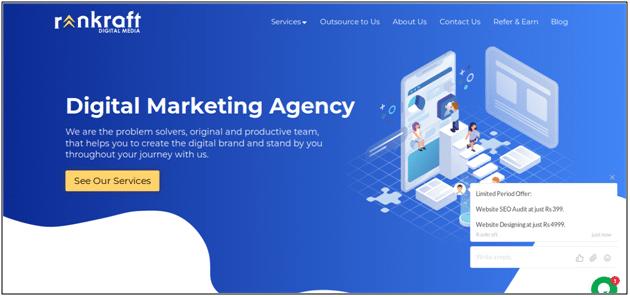 Rankraft Digital Marketing Services