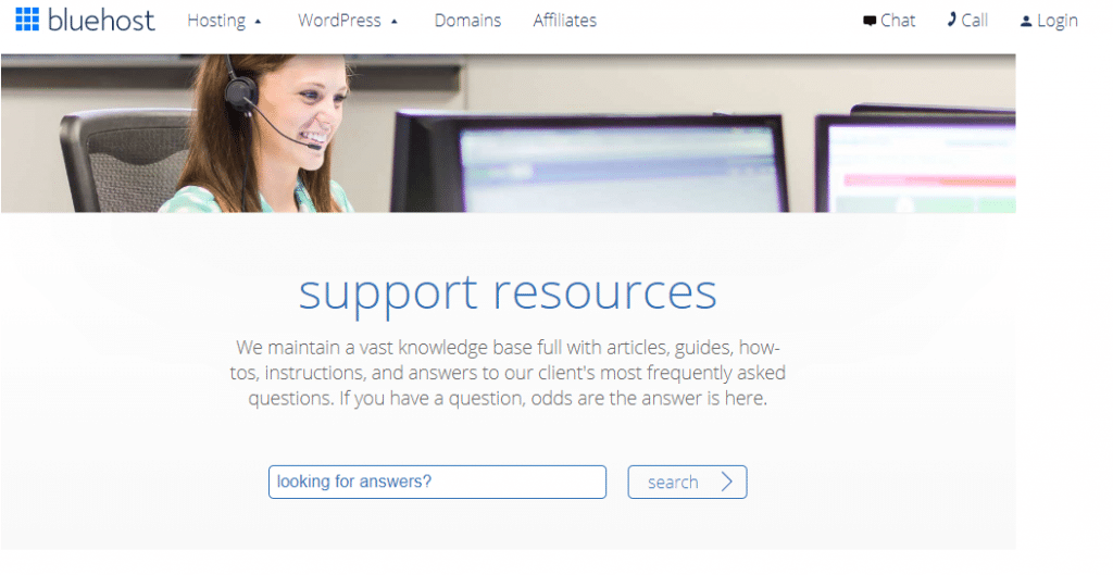 Bluehost Knowledgebase