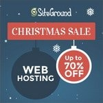 SiteGround Christmas Sale