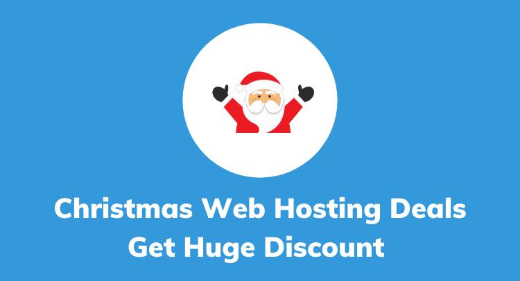 Web Hosting Christmas Offers, Deals & Sale 2020